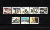 Picture of Португалия  1974г. SC# 1207-1214  • Достопримечательности Португалии •  MLH OG VF+ / полн. серия ( кат.- $12 )