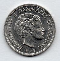 Изображение Дания 1976г.  • 1 крона, Королева Маргрете II •  VF-XF