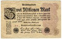 Изображение 1923 г. • 2 000 000 марок • F