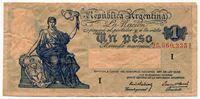 Изображение Аргентина 1957 г. • 1 песо • VF
