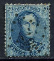 Изображение Бельгия 1863-65 гг. SC# 15 • 20c. Король Леопольд I (лот № 9) • Used VF ( кат.- $4 )