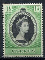 Picture of Кипр 1953г. Gb# 172  • 1 1/2pi. Коронация Елизаветы II •   XF