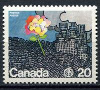 Изображение Канада 1976г. SC# 690  • 20c. Конференция ООН •  MNH OG XF