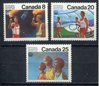 Picture of Канада 1976г. SC# 681-3  • Олимпиада-76. Мельбурн •  MNH OG XF / полн. серия