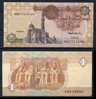 Bild von Египет  2008г.  P# 50 • 1 фунт •  UNC пресс