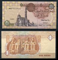 Image de Египет  2008г.  P# 50 • 1 фунт •  UNC пресс