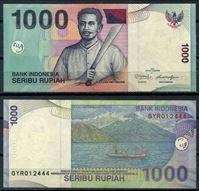 Изображение Индонезия  2011г.  P# 141 • 1000 рупий •  UNC пресс