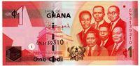 Изображение Гана 2015 г. • 1 седи • UNC пресс