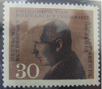 Изображение Германия ФРГ 1967 г. Mi# 537 • 100 лет со дня основания больницы Бетель • MNH OG XF+ ( кат.- €0,3 )