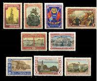 Изображение СССР 1954 г. Сол# 1755-63 • 300-летие воссоединения с Украиной • MNH OG XF • полн. серия