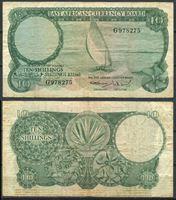 Изображение Британская Восточная Африка 1964 г. P# 46 • 10 шиллингов • VF-