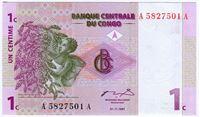 Изображение Конго 1997 г. • 1 сантим • UNC пресс
