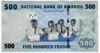 Изображение Руанда 2013 г. • 500 франков • UNC пресс