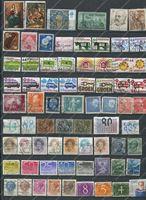 Picture of 70 разных старых марок мира • лот № 1