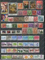 Picture of 60 разных старых марок мира • лот № 3