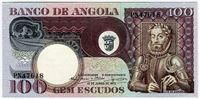 Изображение Ангола 1973 г. • 100 эскудо • UNC пресс