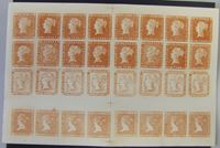Image de Маврикий 1948 г. • Лист копии (Privater Nachdruck) Однопенсового Маврикия 1847 • Mint NG XF • копия
