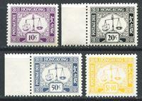 Bild von Гонконг 1976 г. SC# J19a-22 • 10c.-1$ служебные • MNH OG XF • полн. серия ( кат.- $10 )