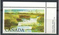 Picture of Канада 1982-87 гг.  SC# 937  • 5$. стандарт. Национальный парк Пойнт-Пели •  MNH OG XF+ ( кат.- $10 )