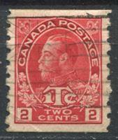 Image de Канада 1916г. Gb# 234  • 2c. Георг V. Военный сбор. б.з. на перф. 8 VF ( кат.- £12 )