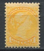 Изображение Канада 1870-88 гг. Gb# 73 • 1c.. Королева Виктория(маленькая) • MLH OG XF ( кат.- £80 )