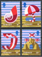 Image de Джерси 1975г. SC# 124-7  • Туризм •  MNH OG XF / полн. серия