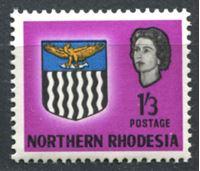 Image de Северная Родезия 1963г. Gb# 83  • 1sh.3d. Герб колонии XF