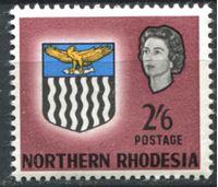 Image de Северная Родезия 1963г. Gb# 85  • 2sh.6d. Герб колонии XF