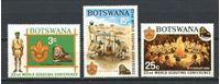 Image de Ботсвана 1969г. SC# 51-3  • 22-й Всемирный слет скаутов XF • полн. серия