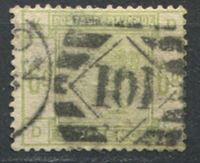 Изображение Великобритания 1883-84 гг. Gb# 194 • 6d. Королева Виктория • Used VF ( кат.- £230 )