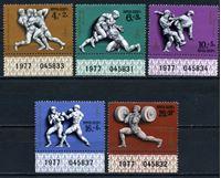 Bild von СССР 1977г. Сол# 4706-10 • Олимпиада-80, Москва • MNH OG Люкс • полн. серия