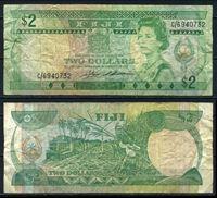 Изображение Фиджи 1983 г. P# 82 • 2 доллара • регулярный выпуск • F