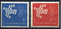 """Image de Люксембург 1961 г. SC# 382-3 • Выпуск """"Европа"""" • MNH OG XF • полн. серия"""