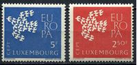 "Picture of Люксембург 1961 г. SC# 382-3 • Выпуск ""Европа"" • MNH OG XF • полн. серия"