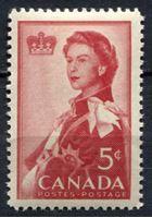 Image de Канада 1959г. SC# 386  • Визит королевской семьи в Канаду •  MNH OG XF