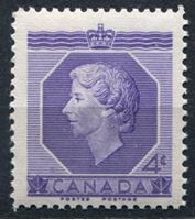 Picture of Канада 1953г. Gb# 461  • 4c. •   Коронация Елизаветы II • MNH OG XF