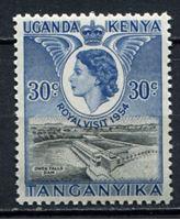 Bild von Кения, Уганда и Танганьика 1954г. Gb# 166  • 30c. •   Королевский визит • MNH OG XF
