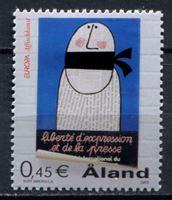 Изображение Аландские о-ва 2003 г. SC# 213 • Свободу прессе • MLH OG VF ( кат.- $1,5 )
