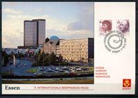 Image de Норвегия  1992г. SC# 1004,15  • 2.80 и 6.60kr. Почтовая ярмарка в Эссене •   стандарт • Used(СГ) XF / ПК