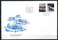 Bild von Норвегия  1993г. SC# 1036-7  • Туризм на реках и озерах •  Used(СГ) XF / полн. серия / КПД