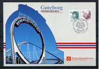 Изображение Норвегия 1992 г. SC# 1005,15 • 3.00 и 6.60kr. Фил. выставка Гетеборг • стандарт • Used(СГ) XF • ПК