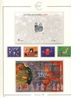 Image de Сан-Марино 1999-2001 гг.  • лот 83 марки + 2 блока. номинал - €51.20 • MNH OG XF