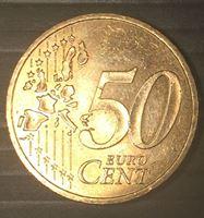 Изображение Франция 2001 г. • KM# 1287 • 50 евроцентов • регулярный выпуск • BU