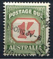 Изображение Австралия 1958-60 гг. Gb# D140 • 1 sh. • служебный выпуск • Used XF