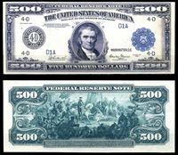 Picture of США 1918 г. P# 364 • 500 долларов. Джон Маршалл • регулярный выпуск • копия • UNC пресс