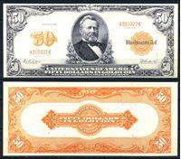 Picture of США 1922 г. P# 276 • 50 долларов. Улисс Грант • регулярный выпуск • копия • UNC пресс