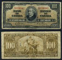 Изображение Канада 1937 г. P# 64b • 100 долларов • Gordon-Towers • регулярный выпуск • F