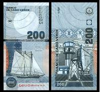 Изображение Кабо-Верде 2005 г. P# 68 • 200 эскудо • регулярный выпуск • UNC пресс