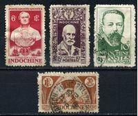 Picture of Французский Индокитай 1944 г. • 4 марки (коммеморатив) • Used VF