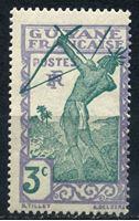 Изображение Французская Гвиана  1939-40 гг.  Iv# 157  • 3 c. Лучник (осн. выпуск) •  MLH OG XF